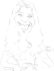 (essa aí sou eu segundo o Dino Alves, em caricatura que ganhei em uma Bienal do Livro em SP)
