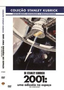 Capa do DVD do filme 2001: uma odisséia no espaço