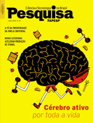 capa da edição impressa de julho de 2009 da revista Pesquisa Fapesp